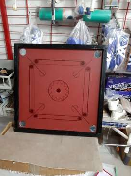 Carrom board with coins& striker