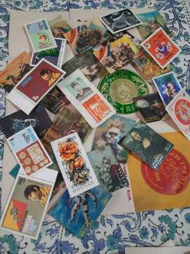 SALE OF OLD ANTIQUE RARE POSTAL STAMPS FROM MANY COUNTRIES .