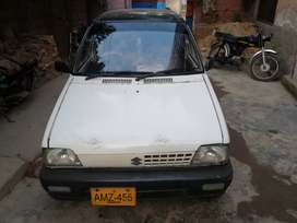 Suzuki Mehran 2007, A1 condition