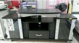 rak tv romaro 0801 P 150 cm minimalis hitam siap antar