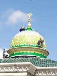 Handal dalam Pembuatan Kubah Masjid bahan GRC Hasil Rapi