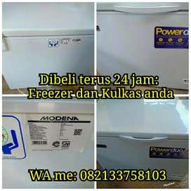 Freezer & Kulkas anda dibeli terus 24 jam siap jemput