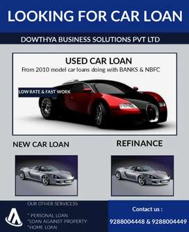 Used car and new car loan