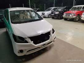 Innova new model Conversion and pearl white painting