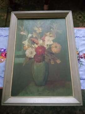#Lukisan_Kanvas_Minyak_mirip_Lukisan_Rembrants_dan_Picasso_ #1970_an