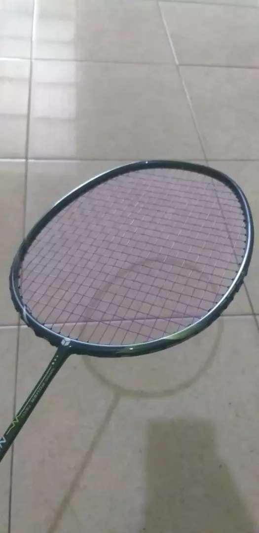Badminton smash raket kuat frame kencang tali 28lbs max 0