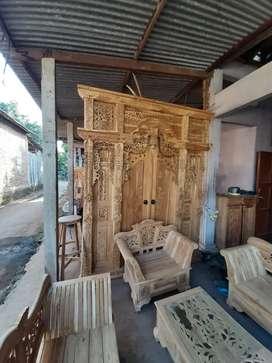 cuci gudang pintu gebyok gapuro jendela rumah masjid musholla tata