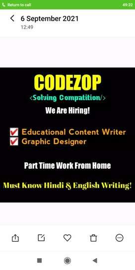 Educational Content Writer & Graphic Designer