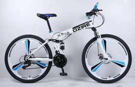 New Foldable macwheel cycle with shimano gears 21