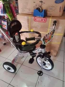 Sepeda PMB roda tiga tricycle tipe 720 nikel Chorome