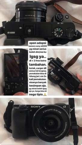 kamera SONY A6000