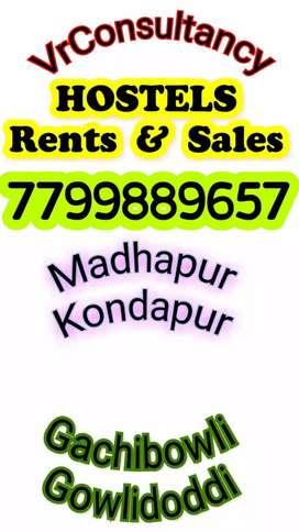Running Women's PG Hostel Sale in Madhapur.