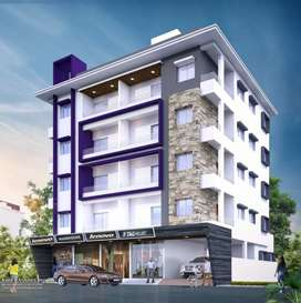 Under construction 1bhk flat for sale in wadgaonsheri