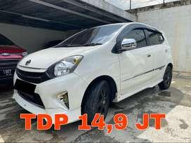 Toyota Agya Matic 2015 Type G TRD Sportivo Putih | KM 50RB