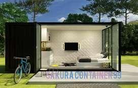 Box container - container rumah - container villa - container hotel