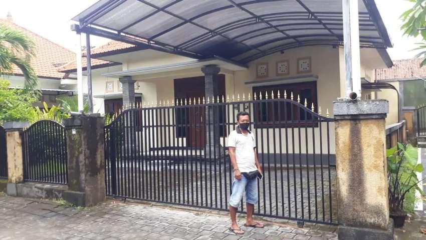 Dikontrak kan rumah strategis Jl. Tukad Badung, Denpasar. Bali
