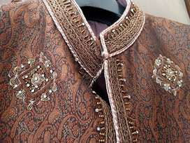 Gents Sherwani with kullah for sale
