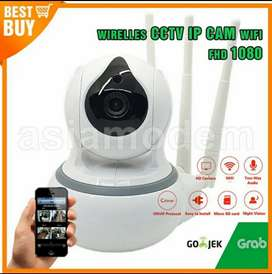 IP Camera CCTV Babycam HD Wireless Rotasi Wifi Cam 3 Antena Lebih Kuat