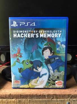KASET PS4 GAME DIGIMON STORY CYBER SLEUTH HACKER'S MEMORY