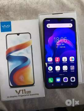 vivo v11 pro 6gb ram 64 rom good condition no problem