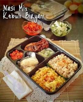 Nasi Biryani / Kebuli Box Bento Cocok Untuk Berbagai Acara