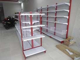 Rak Supermarket Baru Finishing Powder Coating