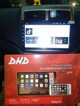 Salee tv Android Merek DHD plus masang + kamera