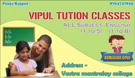 Tution classes primary to 5th