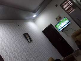 House for rent ground portion with gas boring separate meter rent