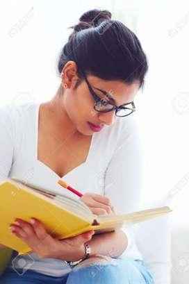 Offline writing work