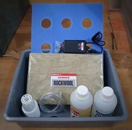 Hidroponik Set Paket Lengkap Tinggal Pakai