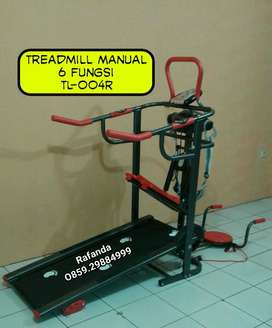 Treadmill Manual 6 Multifungsi TL-004 Anti Gores