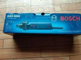 Jual gerinda lurus merk BOSCH GGS 5000 original
