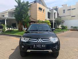 Dijual Pajero Exceed A/T 2014 FULL ORIGINAL SERVIS RECORD km 39rb
