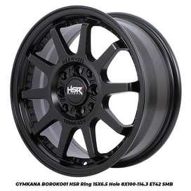 PELEK RACING HSR GYMKANA R15 BLACK. BAYAR BISA CASH / KREDIT