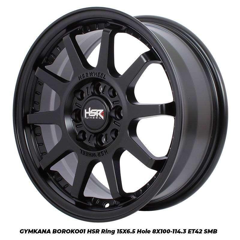 PELEK RACING HSR GYMKANA R15 BLACK. BAYAR BISA CASH / KREDIT 0