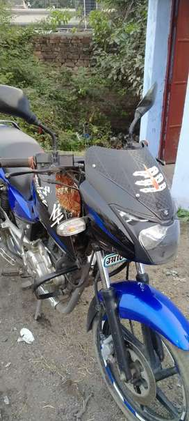 Pulsar 150 in blue and black colour