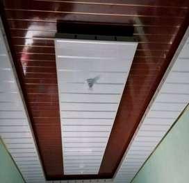 Plafon PVC bahan berkualitas dan tahan lama tarif