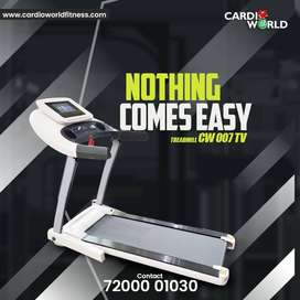 Discount sale on TV Treadmill
