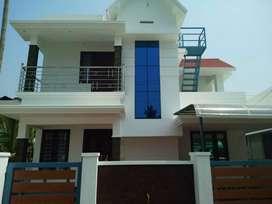 3 bhk 1500 sqft  ready to ocvupy house at varapuzha near kochal
