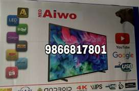 New 4k latest smart 32 inch led 2 years warranty and bil  madeinKorea