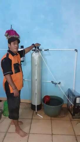 Jual tabung filter air penjernih Sumur bor PDAM & pemasangan depot air