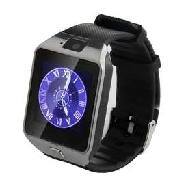 Android Smart Watch Black Dz09 With Gsm Slot (FREE DELIVERY)