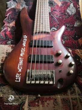 Ibanez 6 Strings Bass Guitar