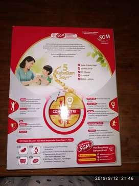 SUSU SGM SOYA 1+ MADU 700GR