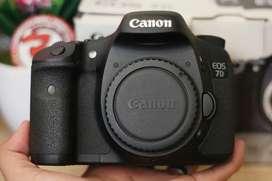 Canon 7D BO Like New Sc 6rb Fullset Box