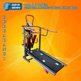 Alat olahraga treadmill manual tl 004 treadmil TOTAL COD Mojokerto