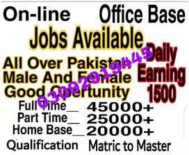 Jop available for office management