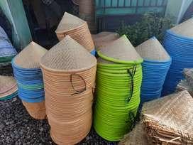Tudung Caping Topi Petani Warna Warni Agen Grosir