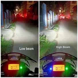 BRIGHT LED HEADLIGHT FOR BIKES